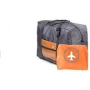 Inventure Retail Maps Happy Flight Foldable Big Carry Handbag(Orange)