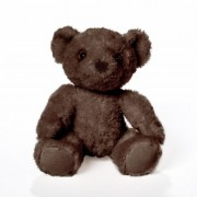Bears For Humanity Baby Organic Brown Teddy Bear Plush Stuffed Animal. 7 Inches. One Is Donated To A Child In Need For Each One Purchased