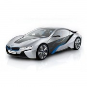 Masinuta BMW i8 RC cu Telecomanda 1 14 Rastar Gri