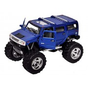 Babytintin Die Cast Metal 2008 Hummer H2 SUV (Off-road) Car with Openable Doors and Free Wheeling Pull Back Action Car Die Cast Model Toy Car 1:40 Scale Die-cast Model Town Toy Car Vehicle Toy Car (Pack Of 1) (Assorted Color)
