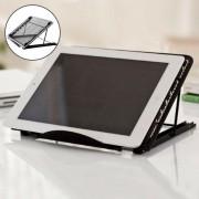 Universele Tablet Houder - LED A4 Lightpad - Diamond Painting - Kookboek Standaard - Bureau Tafel Houder Staander – Inklapbare Tablet Houder - Verstelbare Tablet Standaard – Zwart
