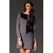 Sukienka M148 (szary)