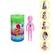 Papusa surpriza Chelsea Colour Reveal Barbie