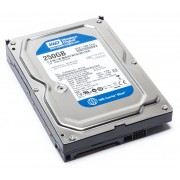 "HDD 250 GB Western Digital SATA-III 3.5"" - second hand"