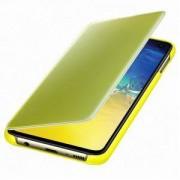 Оригинален калъф за Samsung Galaxy S10e – Clear view cover, жълт, EF-ZG970CYEGWW