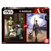 Educa Star Wars VII: Az ébredő Erő puzzle, 2x500 darabos