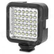 Wansen W36 4W 36-luz de la camara de video LED para canon / nikon - negro
