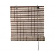Xenos Rolgordijn bamboe - bruin/naturel - 150x180 cm