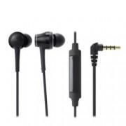 """Слушалки Audio-Technica ATH-CKR70iS, тип """"тапи"""", микрофон, High-Resolution аудио, бързи бутони, черни"""