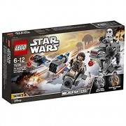 Lego star wars 75195 ski speeder contro microfighter first order walker