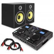 """Elektronik Star Set DJ """"Starter Control"""" - Set de Colunas e Mesa de Comando P/ DJ 2x Cabos RCA"""