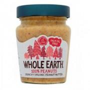 Whole Earth Manteiga de Amendoim Crocante Orgânica 227 g