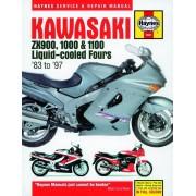 Kawasaki ZX900 1000 &amp: 1100 Liquid-cooled Fours (83 - 97)