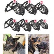 7 Sizes Choices Adjustable Pet Dog No Bark Bite