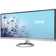 """Monitor 29"""" ASUS MX299Q, UW-UXGA, IPS, 5ms, 300cd/m2, 80.000.000:1, DVI-D, HDMI, DP, srebni"""