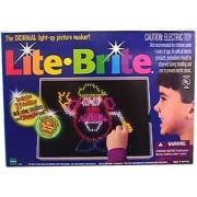 Lite Brite Light up Picture Maker - 1998 Version - Comes with 16 Designs Including 2 Mr. Potato Head Designs