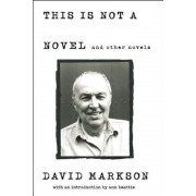 This Is Not a Novel and Other Novels, Paperback