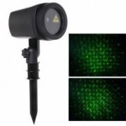 Proiector laser efect ploaie de meteoriti joc de lumini verzi IP44 suport