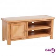 vidaXL TV kabinet od hrastovine 103 x 36 x 46 cm