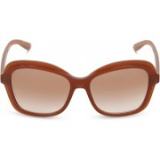 DKNY Cat-eye Sunglasses(Red)