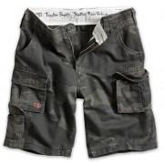 pantaloni scurți bărbați SURPLUS - cavalerist - Negru camo - 07-5600-42