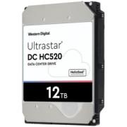 "HDD 12TB WD Ultrastar DC HC520 3.5"" SATAIII 256MB HUH721212ALE604"