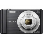 Sony Cyber-Shot DSC-W810B Digitalkamera 20.1 Megapixel Zoom (optisk): 6 x Svart