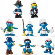 SMURF Smurfs 20760? 20767 2014 year sale pirate series, all eight set Schleich