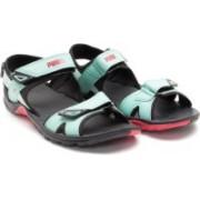 Puma Women Black::Green Sports Sandals