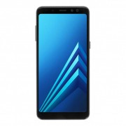 Samsung Galaxy A8 (2018) Duos (A530F/DS) 32GB negro - Reacondicionado: buen estado