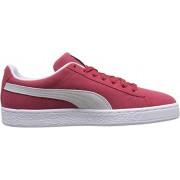 Puma Suede Classic +, Unisex volwassen sneaker, rood (Team Regal Red / White), 40 EU