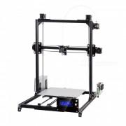 flsun i3 Kit de impresora 3D DIY con gran area de impresion 300 * 300 * 420 mm - negro (enchufe AU)