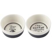 C.T.5163880 Kerámia tálkaszett 2db-os,90x40mm,Gourmet Cheese