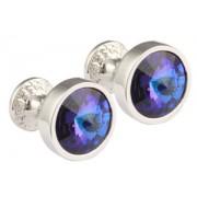 Mousie Bean Crystal Cufflinks Goblet 082 Helio