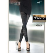 Fiore - Opaque patterned leggings Destiny 60 DEN