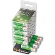 Techly Multipack 24 Batterie High Power Stilo AA Alcaline LR06 1,5V