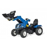 Rolly Toys Rollyfarmtrac New Holland - Rolly Toys-pedaltraktor 611270