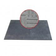 Plastová stájová hladká podlahová deska - délka 120 cm, šířka 80 cm a výška 1,2 cm