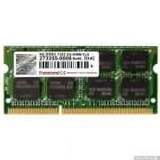 SODIMM, 4GB, DDR3, 1333MHz, Transcend CL9 (TS512MSK64V3N)