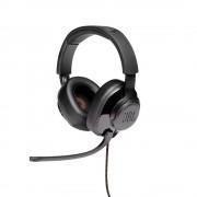 HEADPHONES, JBL QUANTUM 300, Gaming, Microphone, Black (JBLQUANTUM300BLK)