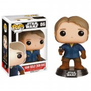 Pop! Vinyl Figura Funko Pop! Han Solo Bobble-Head - Star Wars: Episodio VII