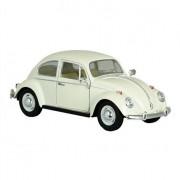 Bromma Kortförlag Modellbil VW Beetle 1967 Kräm