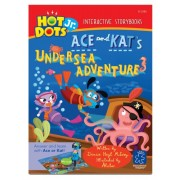 Educational Insights Hot Dots Jr. Story Books Ace & Kat Undersea, Set Of 6