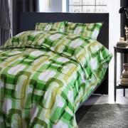 Спално бельо GREEN RECTANGLES – 100% Памук