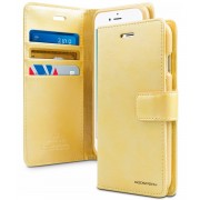 Mercury Pouzdro / kryt pro iPhone 7 Plus / 8 Plus - Mercury, Bluemoon Diary Gold
