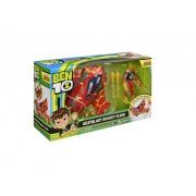 Jucarie Playmates Ben 10 Vehicul Extraterestru cu Figurina Torta Vie