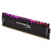 Памет Kingston HyperX Predator RGB 8GB DDR4 PC4-25600 3200Mhz CL16, HX432C16PB3A/8
