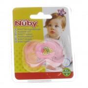 Nûby Nuby Brites Ovaler Beruhigungssauger 6- 18 Monaten