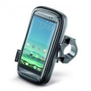 "Cellularline SMSMART52 - Cellularline Porta Smartphone Universale Per Bici E Moto 5.2"""