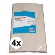 Merkloos Verhuis inpakpapier 400 vellen 50 x 75 cm